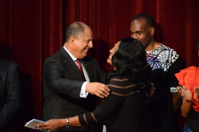 melida and the president
